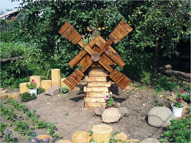 Мельница деревянная своими руками