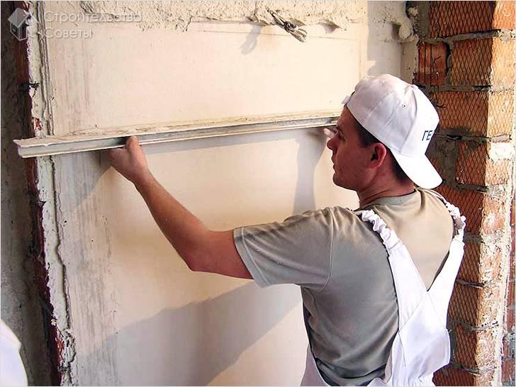 Раствор цементный для штукатурки стен своими руками