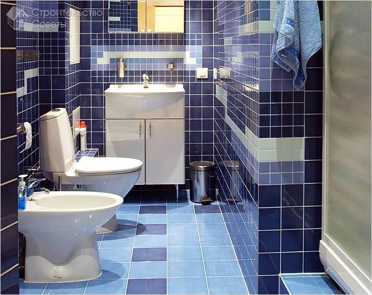 Узкое пространство в ванной