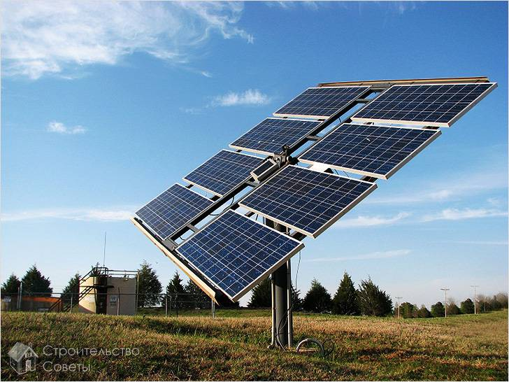 Солнечные батареи в комплекте