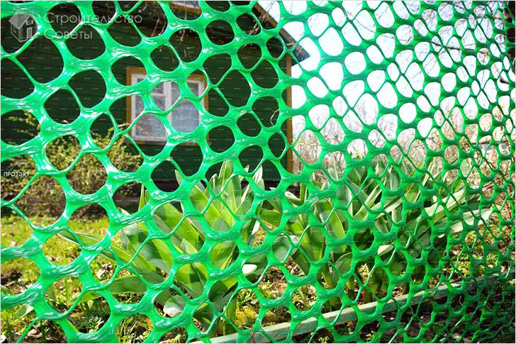 Как выбрать садовую сетку для забора