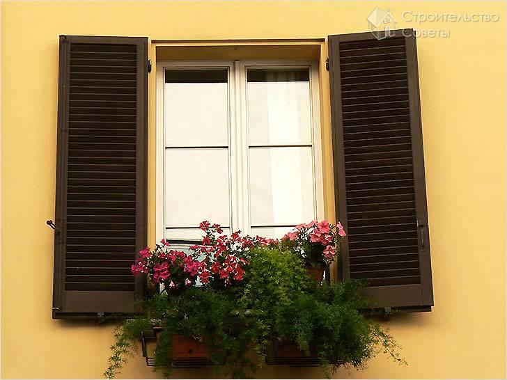 Ставни на окна своими руками
