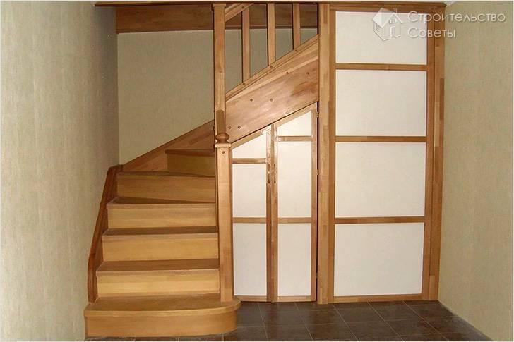 Как самостоятельно сделать деревянную лестницу