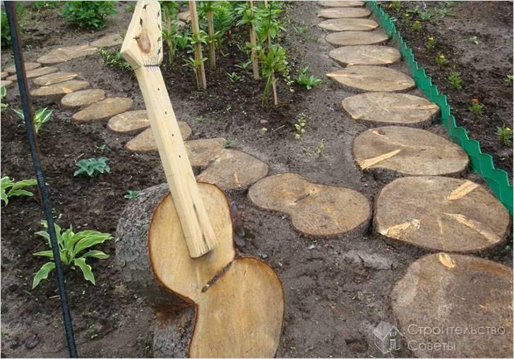 Необычная садовая композиция