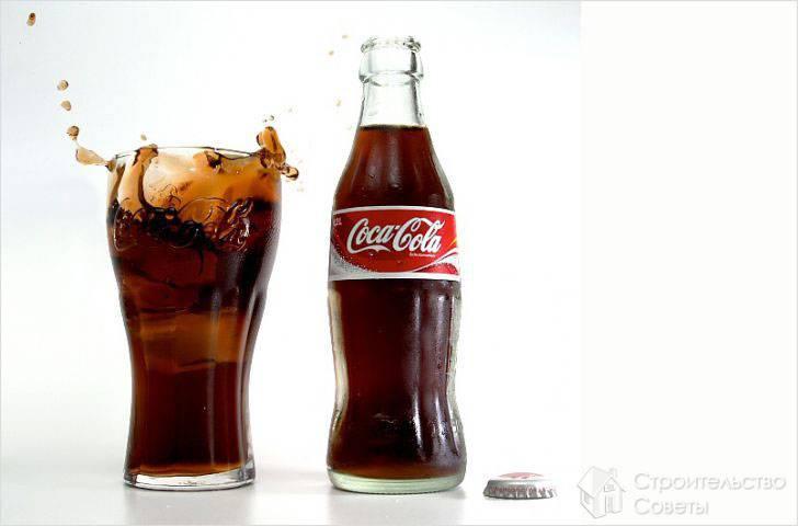 Кока-кола против ржавчины