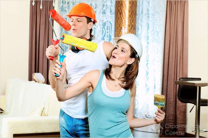 Как сделать ремонт в комнате недорого своими руками фото