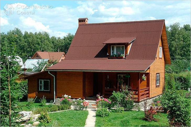 Крыша из ондулина своими руками фото