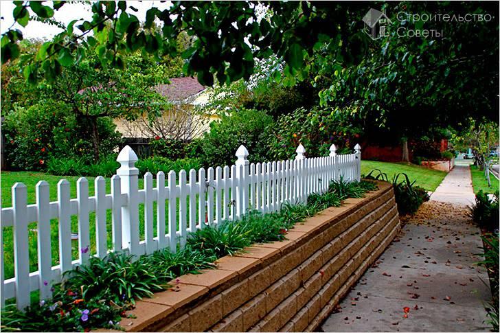 Декоративный забор своими руками