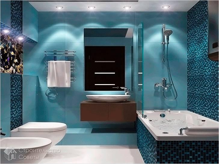 Ванная комната в морском стиле