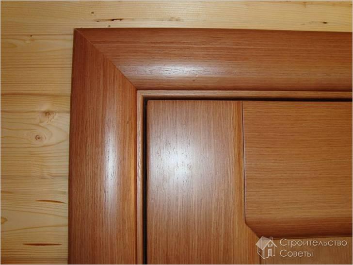 Как установить наличники на межкомнатные двери