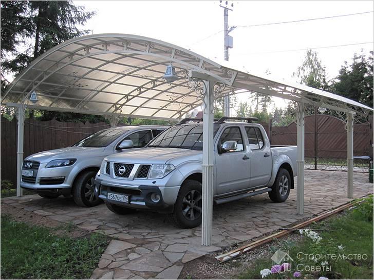 Парковка на даче своими руками
