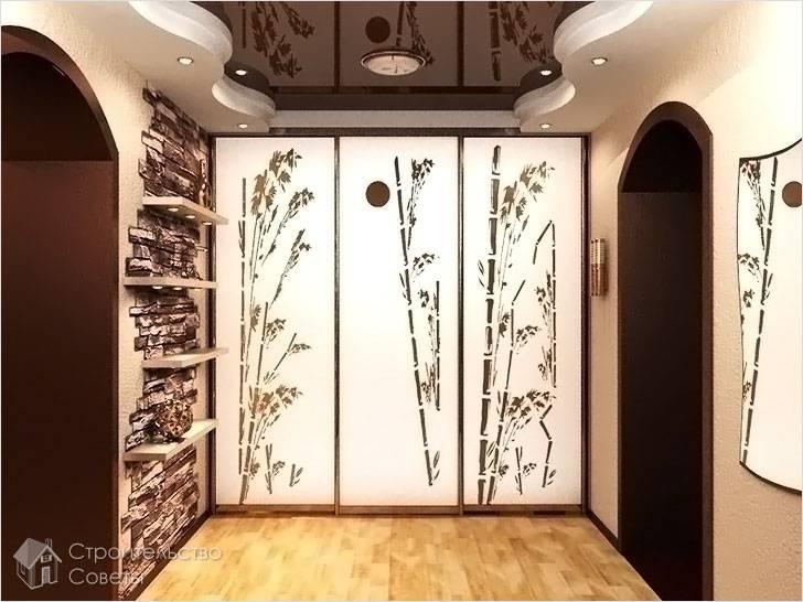 Китайский стиль в интерьере коридора