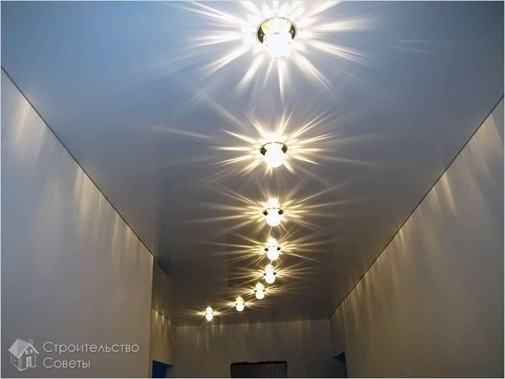 Установка осветительных приборов