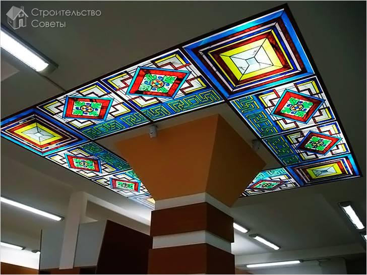 Витражное акриловое стекло