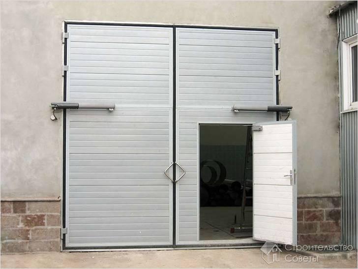 Как правильно выбрать гаражные ворота
