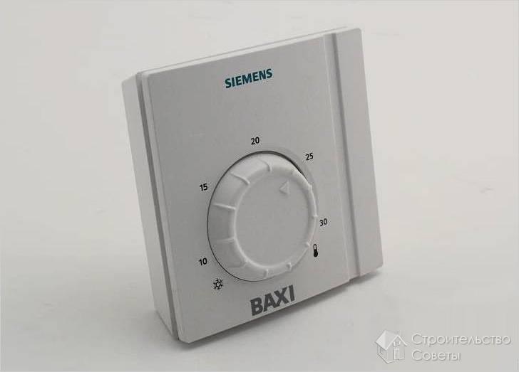 Как подключить термостат к газовому котлу
