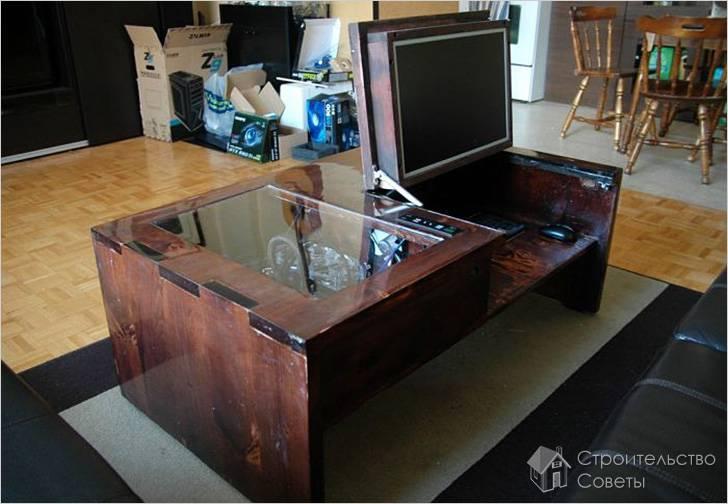 Сделать компьютерный стол своими руками