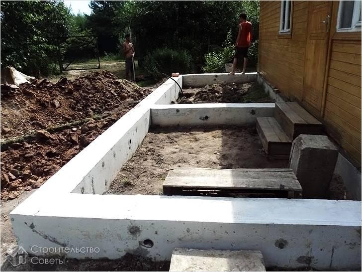 Фундамент — основа постройки