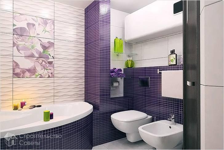 Как правильно положить плитку в ванной комнате