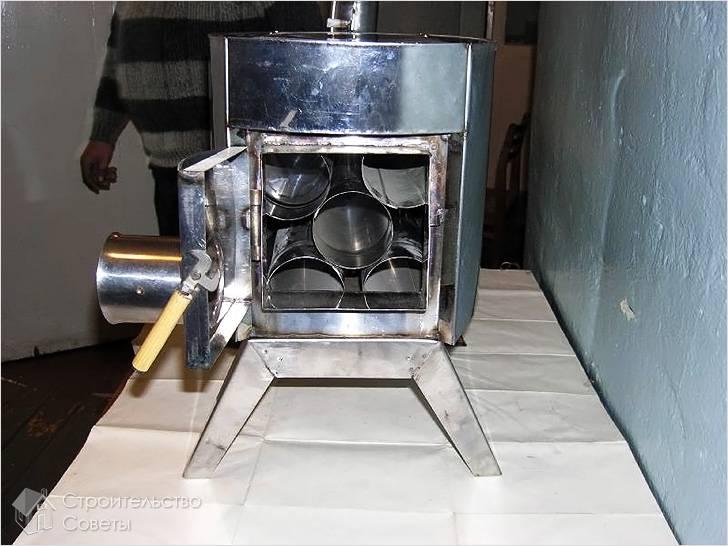 Печь булерьян своими руками