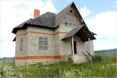 Дом из керамзитоблоков своими руками