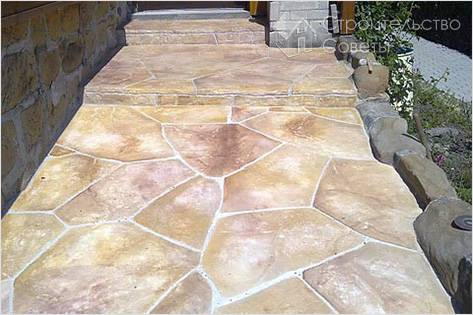 Как приготовить краситель для бетона своими руками