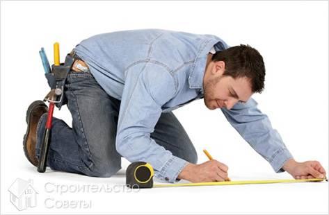 Измерение площади пола
