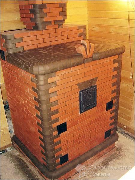Отапливают каменную печь дровами или углем, поэтому в ее...