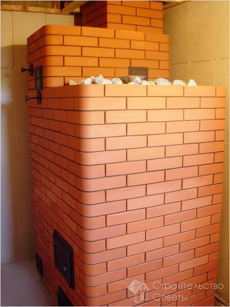 кирпичная печь в бане - Нужные схемы и описания для всех.