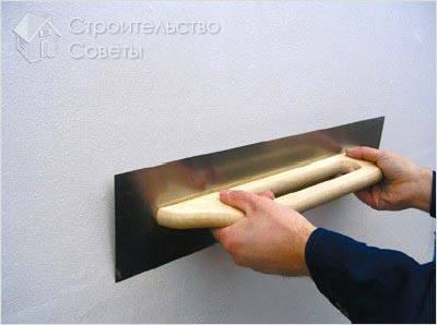 Финишная штукатурка стен своими руками фото
