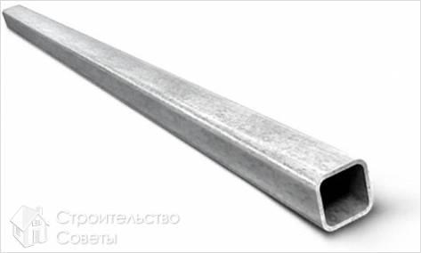 Как сделать забор из профильной трубы