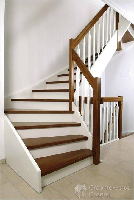 Деревянную лестницу своими руками