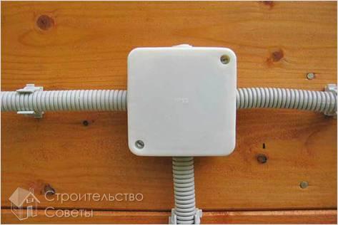 Монтаж открытой электропроводки своими руками