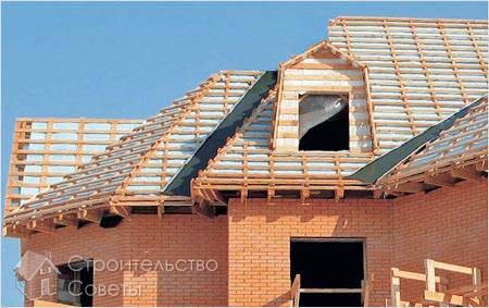 На какую крышу укладывать