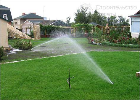 Прокладка водопровода в земле