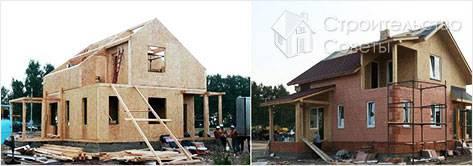 Как сделать дом из OSB своими руками
