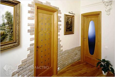 Как отделать дверные проемы декоративным камнем
