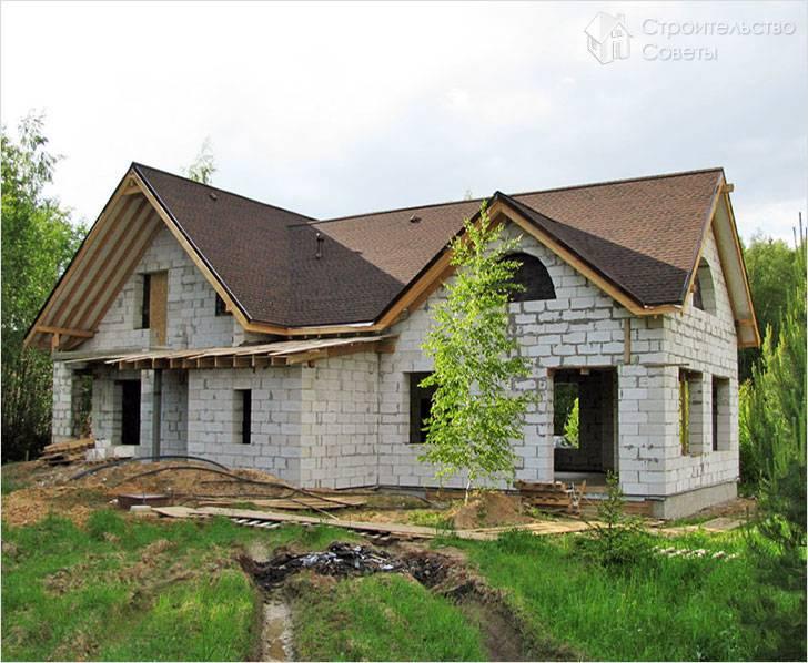 Дом из блоков своими руками