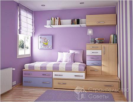 Ремонт в детской комнате фото