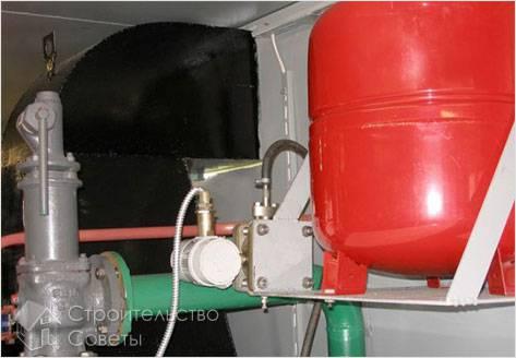 Как установить расширительный бак для отопления