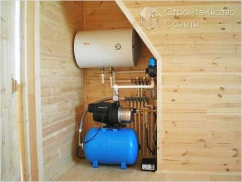 Повышение давления воды в системе водопровода