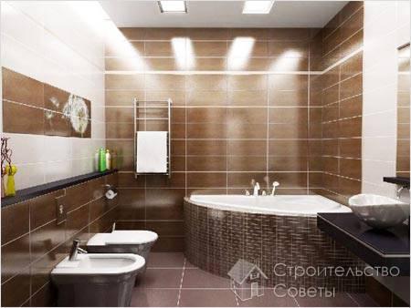 Как отделать ванную своими руками