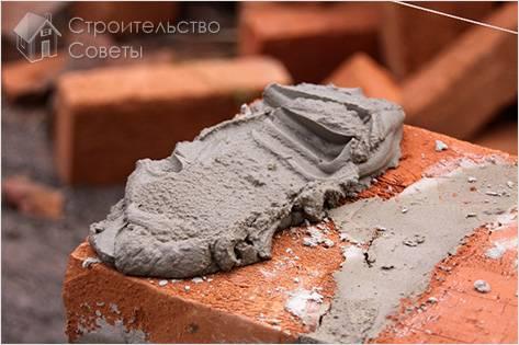 Как правильно разводить цемент