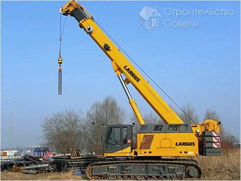 Как арендовать строительный кран
