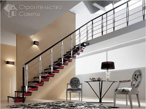Как установить балясины на лестницу
