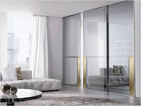 Дизайнерские стеклянные перегородки