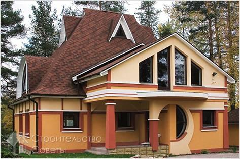 Крыша с окнами своими руками