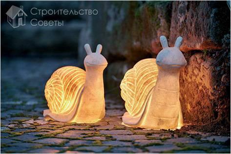 Светильники из гирлянды своими руками