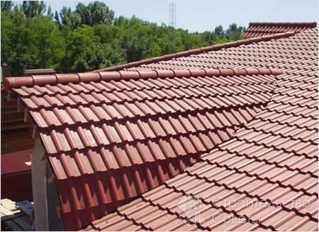 Как отремонтировать крышу дома из черепицы