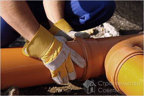 Как правильно проложить канализацию
